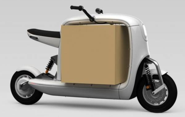 lit unveils the prototype self balancing electric scooter moto. Black Bedroom Furniture Sets. Home Design Ideas